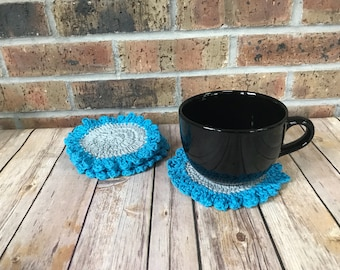 Large Crocheted Coasters