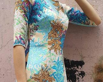 ao dai dress, ao dai, Tunic dress, holiday dress, kimono, hanbok, cheongsam, qipao