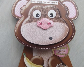 RW 17 (2). Mischief the Monkey. 'To a Cheeky little Monkey!!'