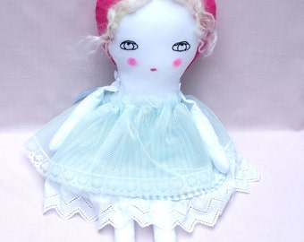 Handmade Ragdoll - Nursery Decor Girls - Gifts for Women - Gifts for Girls - Baby Shower - Collectors Doll