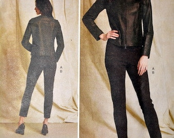 Uncut Vogue 1517, Anne Klein Jacket and pants pattern, sizes 14, 16, 18, 20, and 22