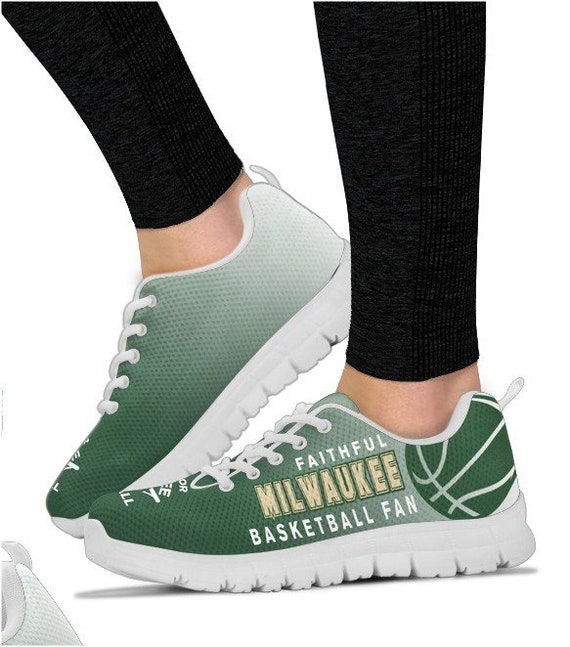 Basketball Walking HB Bucks Milwaukee 017A Sneakers PP BK Shoes Fan aIA05vq
