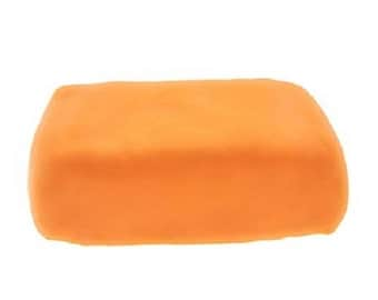Porcelain cold Fox - bread of 250 g - color ORANGE