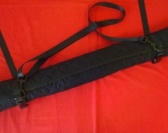 Custom Lined BDSM Flogger Roll Up Bag
