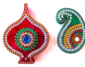Pipal Kumkumdani (Set of 2)
