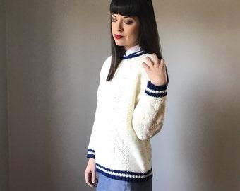 Vintage 70s Varsity Sweater