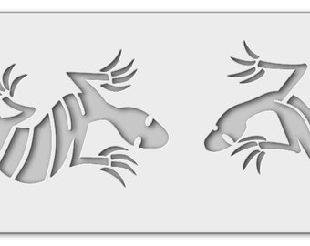 Stencil lizards 1_0003