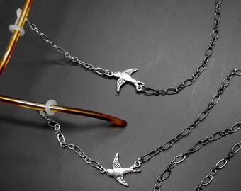 Bird Eyeglass Chain Glasses Holder Eye Glass Lanyard Bird Lover Gift