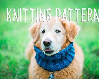 Dog Knitting Pattern - Easy Knitting Pattern- Knit for your Dog - PDF Knitting pattern - Dog clothes
