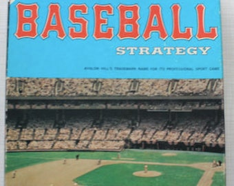 Baseball Strategy Sports Illustrated Board Game Avalon Hill 1977