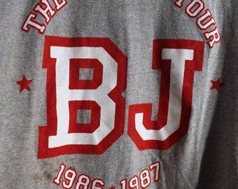 Billy Joel Concert T Shirt! 1986 Authentic Vintage! Billy Joel ~ The Bridge Tour Size Large
