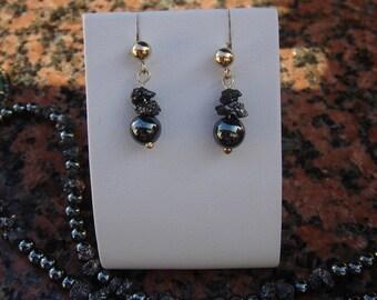 Diamond Earrings in 585-er silver!
