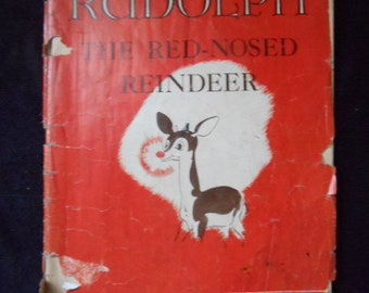 1939 Montgomery Wards Rudolph The Red Nosed Reindeer 1st Ed