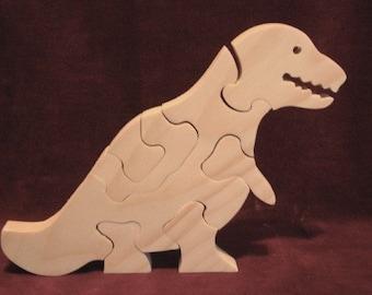 Tyrannosaurus Puzzle, Unfinished Pine