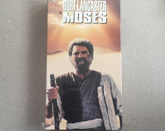 MOSES WITH Burt Lancaster (VHS)