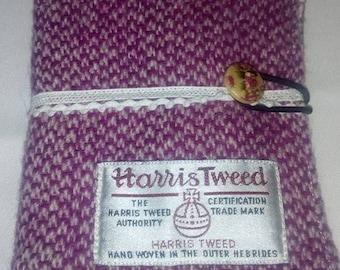 harris tweed card holder, 6 cards
