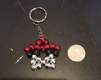 Poke Ball Star Keychain