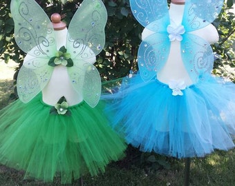 Green blue Fairy wings, tinkerbell accessories, fairy festival wings, green fairy wings, fairy costume accessories
