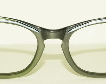 1950s Blue Cat Eye Glasses Frames Vintage Retro