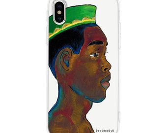 African Boy Phone Case