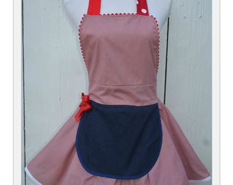 Country Apron for Women Teen Apron Dress Up Flirty Apron Ready to Ship