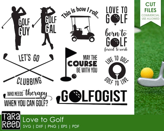 Download Golf svg files / Golf files for Cricut / Golf files for ...