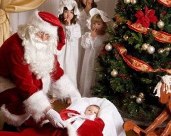 Santa Claus Suit - Premium Professional Costume Set