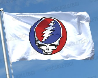 Grateful Dead Steal Your Face Flag! Vendors, Festivals, Tailgating, Businesses, Bands, Clubs, Teams, Weddings, Parties, Special Occasions