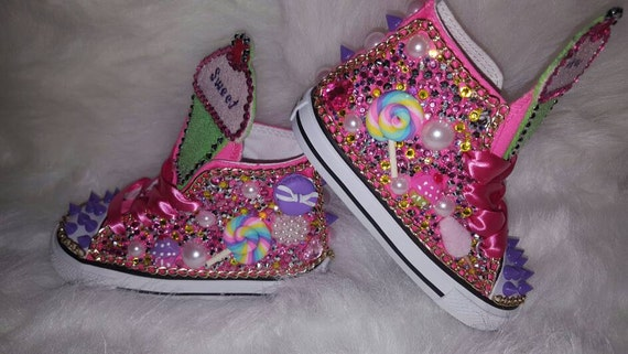 candyland theme custom converse birthday shoes unique shoes