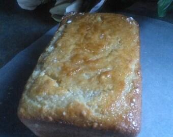 Vanilla Bourbon Quick Bread