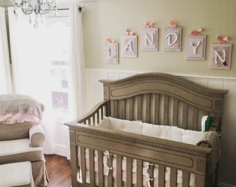 Girl Nursery Decor Etsy