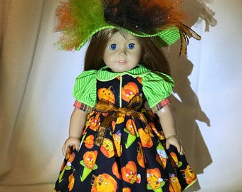 Heirloom style Halloween outfit for American girl doll