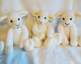 Woolie Lamb Knitting Pattern