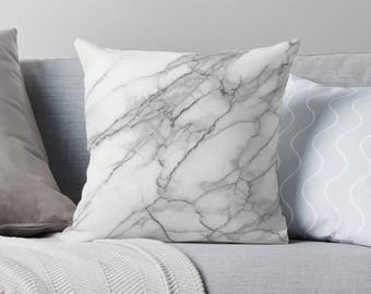 Marble Pillow | Marble Throw Pillow | Modern Pillow | Modern Throw Pillow | Marble  Décor
