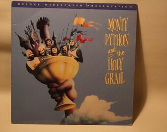 "Vintage Laserdisc Movie ""Monty Python And The Holy Grail"""