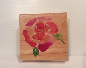 Rose Stamp From Inkadinkado