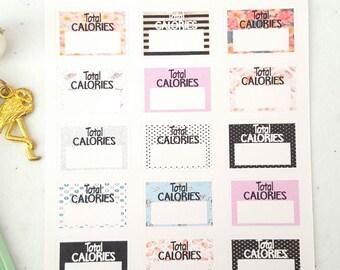 Calorie Tracker Labels