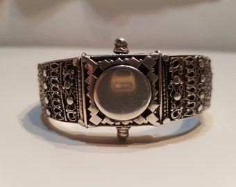 Sri Lankan bracelet from Kandy, Kandyan bracelet, Kandyan jewelry, Sri Lanka old silver jewelry, Ceylon