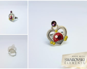 Sailor Moon ring, Sailor Pluto, Garnet orb
