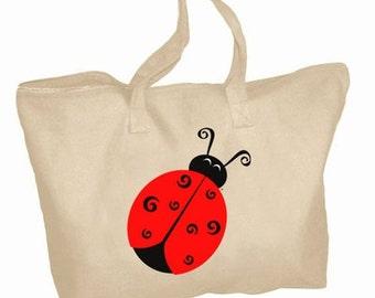 Alpha Sigma Alpha Mascot Zippered Tote Bag