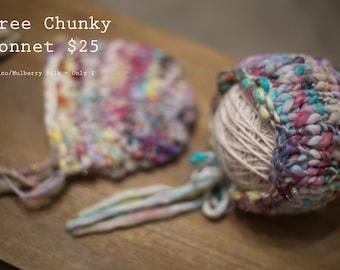 Newborn Bree Chunky Bonnet