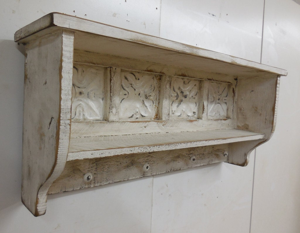 primitive wall shelf rustic wall shelf with shaker pegs