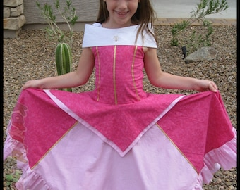 Sweet Little Princess Dress Pattern