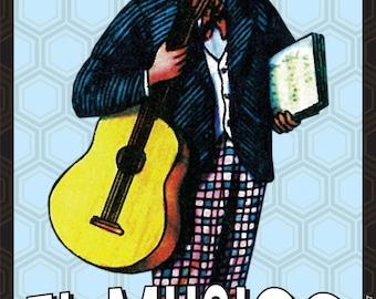 El Musico, Mexican folk art magnet