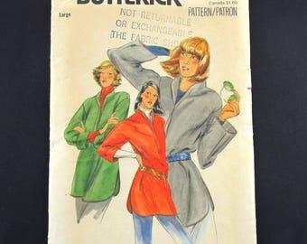 Butterick Women's Long Sleeve Tunic Shirt