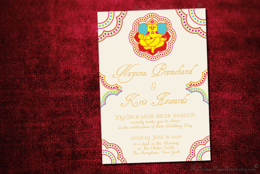 wedding invitation matter from bride india - Picture Ideas References