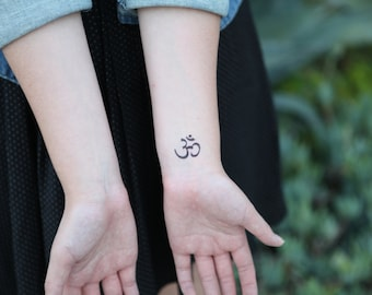 Om Medium - Spirit Ink Temporary Tattoo