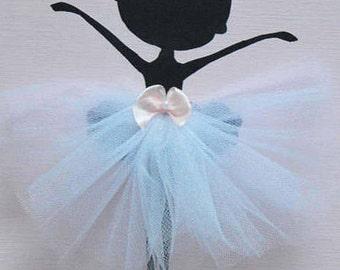 Tutu Ballerina Wall Art. Nursery Decor