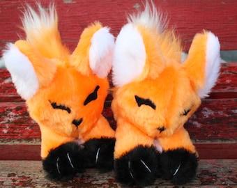 Plush big Fox, Red fox, plush toy fox, animal toy, plush toy animal