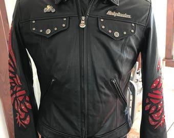 Genuine Harley Davidson Leather Motorcycle Jacket
